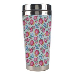 Fruit Flower Red Stainless Steel Travel Tumblers by Jojostore