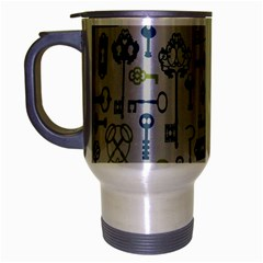 Key Travel Mug (silver Gray) by Jojostore