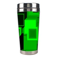 Cyber Glow Stainless Steel Travel Tumblers by Amaryn4rt