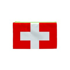 Flag Of Switzerland Cosmetic Bag (xs)