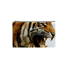 Royal Tiger National Park Cosmetic Bag (small)  by Amaryn4rt