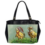 Easter Kitsch Oversize Office Handbag (2 Sides)