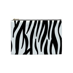 Seamless Zebra Pattern Cosmetic Bag (medium)  by Nexatart