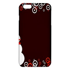 Snowman Holidays, Occasions, Christmas Iphone 6 Plus/6s Plus Tpu Case by Nexatart