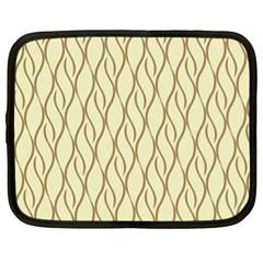 Elegant Pattern Netbook Case (xl)  by Valentinaart