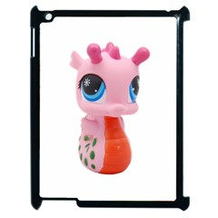 Dragon Toy Pink Plaything Creature Apple Ipad 2 Case (black)