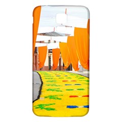 Corpus Torrenueva Procession Samsung Galaxy S5 Back Case (white) by Nexatart