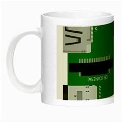 Raspberry Pi 3 Vector Night Luminous Mugs