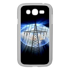 Energy Revolution Current Samsung Galaxy Grand Duos I9082 Case (white) by Nexatart