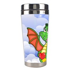 Dragon Heart Kids Love Cute Stainless Steel Travel Tumblers by Nexatart