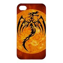Dragon Fire Monster Creature Apple Iphone 4/4s Premium Hardshell Case