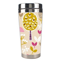 Retro Fruit Leaf Tree Orchard Stainless Steel Travel Tumblers by Jojostore