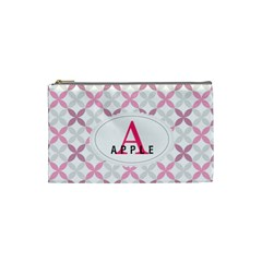 A For Apple Cosmetic Bag (xs) by daydreamer