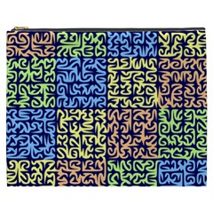 Puzzle Color Cosmetic Bag (xxxl)  by Jojostore