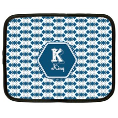 K For King Netbook Sleeve (xl) by daydreamer