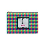 J for Judy Cosmetic Bag (Medium) Front