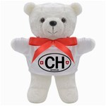 CH - Switzerland Euro Oval Teddy Bear