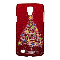 Colorful Christmas Tree Galaxy S4 Active by Nexatart