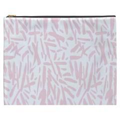 Graffiti Paint Pink Cosmetic Bag (xxxl)  by Alisyart