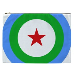 Roundel Of Djibouti Air Force Cosmetic Bag (xxl)  by abbeyz71