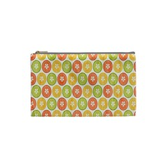 Lime Orange Fruit Slice Color Cosmetic Bag (small)  by Alisyart