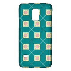 Regular Triangulation Plaid Blue Galaxy S5 Mini by Alisyart