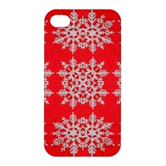 Background For Scrapbooking Or Other Stylized Snowflakes Apple Iphone 4/4s Premium Hardshell Case