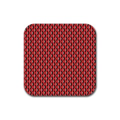 Hexagon Based Geometric Rubber Coaster (square)  by Alisyart