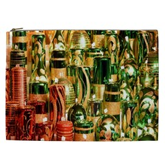 Candles Christmas Market Colors Cosmetic Bag (xxl)  by Nexatart