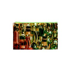 Candles Christmas Market Colors Cosmetic Bag (xs) by Nexatart