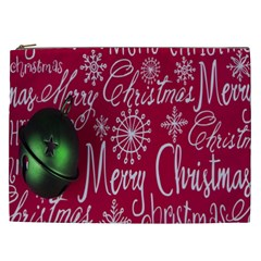 Christmas Decorations Retro Cosmetic Bag (xxl)  by Nexatart