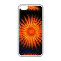 Christmas Card Ball Apple Iphone 5c Seamless Case (white) by Nexatart