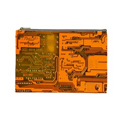 Circuit Cosmetic Bag (large)  by Nexatart