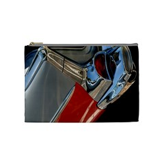 Classic Car Design Vintage Restored Cosmetic Bag (medium)  by Nexatart