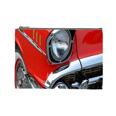 Classic Car Red Automobiles Cosmetic Bag (large)  by Nexatart