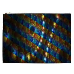 Fractal Art Digital Art Cosmetic Bag (xxl)  by Nexatart