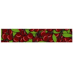 Cherry Pattern Flano Scarf (large) by Valentinaart