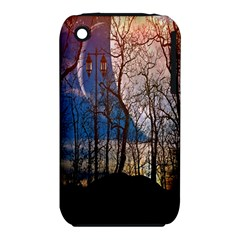 Full Moon Forest Night Darkness Iphone 3s/3gs by Nexatart