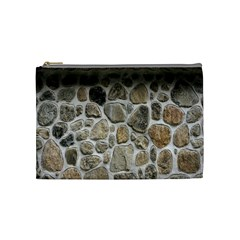 Roof Tile Damme Wall Stone Cosmetic Bag (medium)  by Nexatart