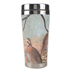 Bob White Quail Stainless Steel Travel Tumblers by digitaldivadesigns