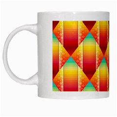 The Colors Of Summer White Mugs by Nexatart