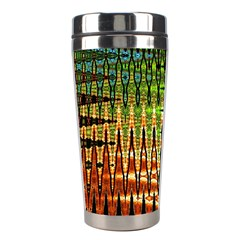 Triangle Patterns Stainless Steel Travel Tumblers by Nexatart