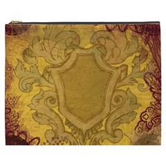 Vintage Scrapbook Old Ancient Cosmetic Bag (xxxl)  by Nexatart