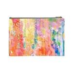 Watercolour Watercolor Paint Ink Cosmetic Bag (Large)  Back