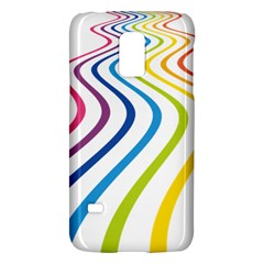 Wave Rainbow Galaxy S5 Mini by Alisyart