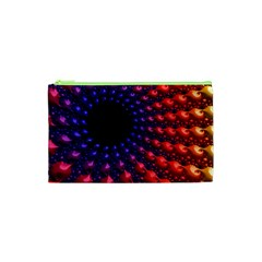 Fractal Mathematics Abstract Cosmetic Bag (xs) by Amaryn4rt