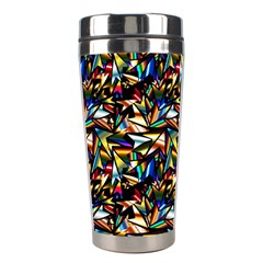 Abstract Pattern Design Artwork Stainless Steel Travel Tumblers by Amaryn4rt