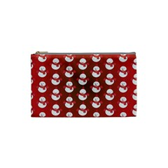 Card Cartoon Christmas Cold Cosmetic Bag (small)