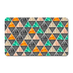 Abstract Geometric Triangle Shape Magnet (rectangular) by Amaryn4rt