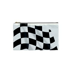 Flag Chess Corse Race Auto Road Cosmetic Bag (small)
